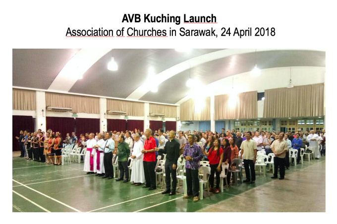 AVB Kuching Launch 24 April 2018